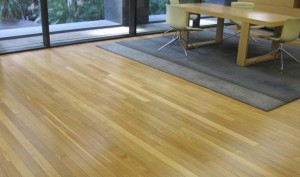 commercial flooring for an office reception area