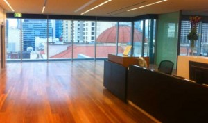 Commercial flooring in an Adelaide CBD High Rise