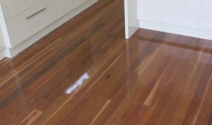 Contemporary high gloss timber floors with timber protection